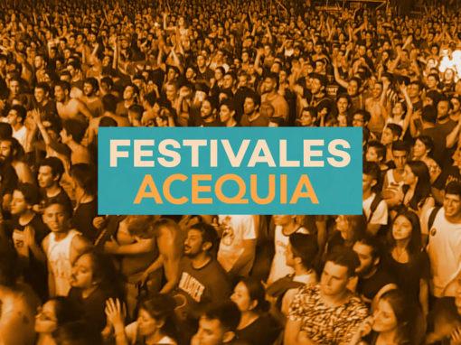 Festivales Acequia