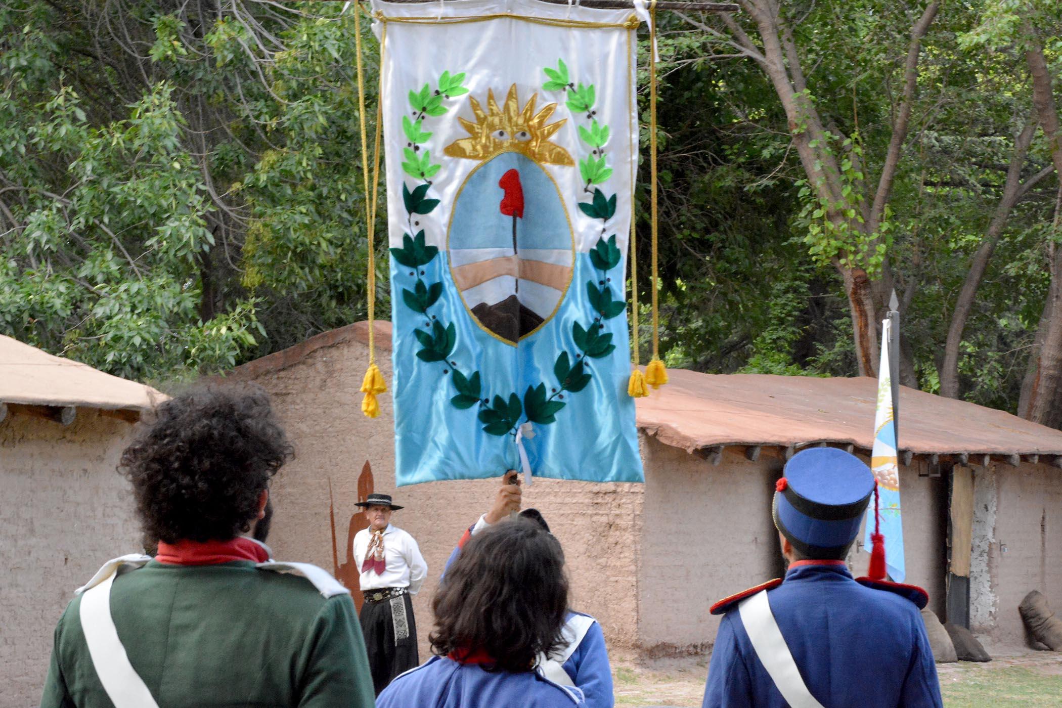 """Obra """"Preparativos del Ejército de Los Andes"""""""